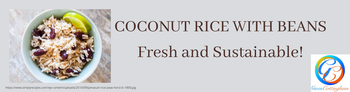 Coconut Rice with Beans
