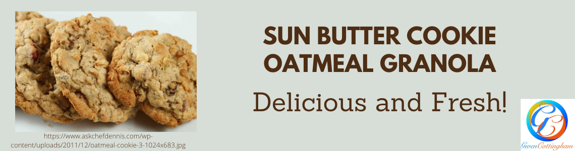 Sun Butter Oatmeal Cookie Granola